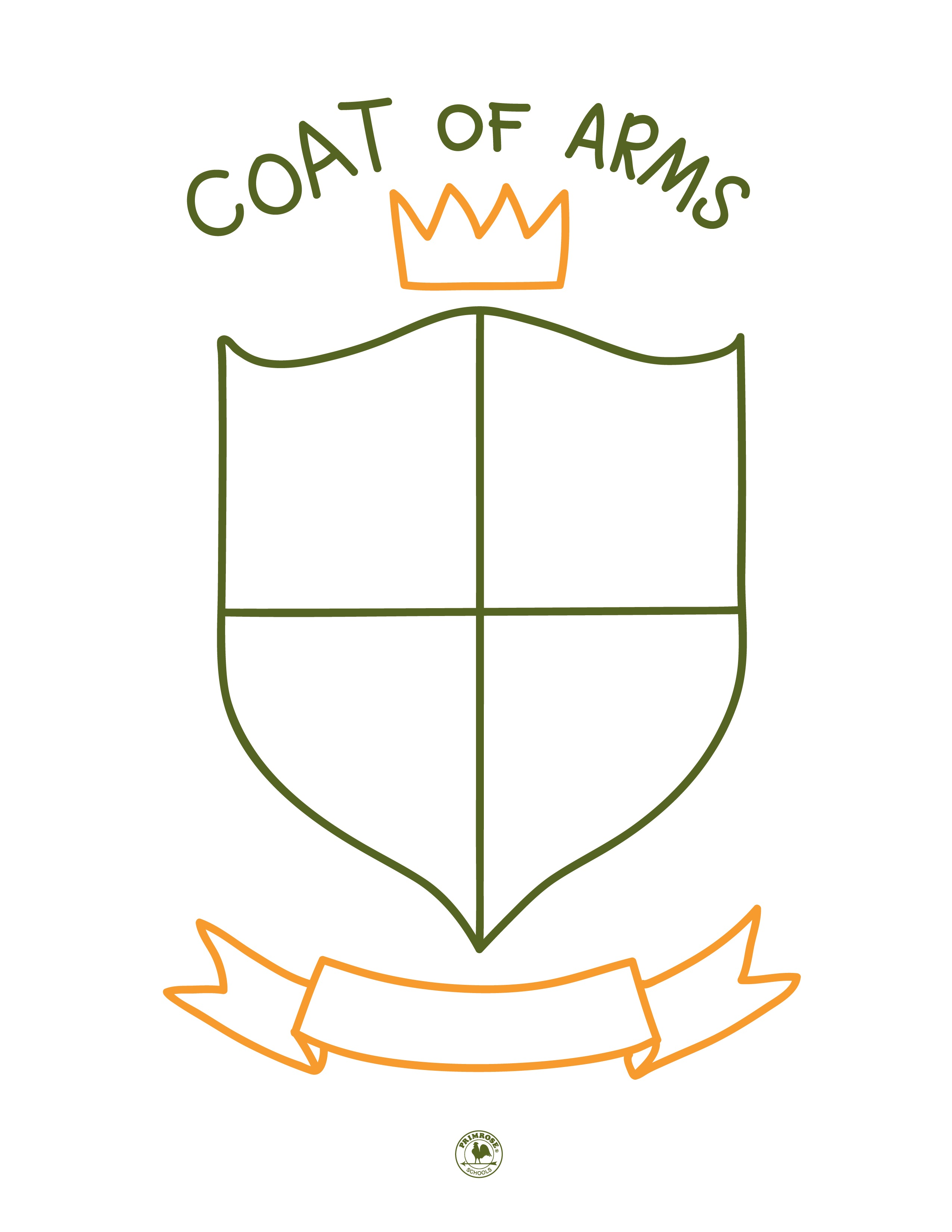 Create a Coat of Arms as a Family with this Fun Activity