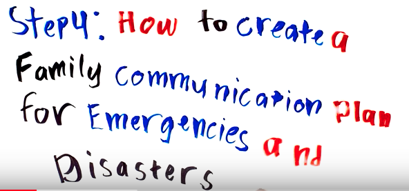 Step 4: How to Create a Family Communication Plan for Emergencies and Disasters