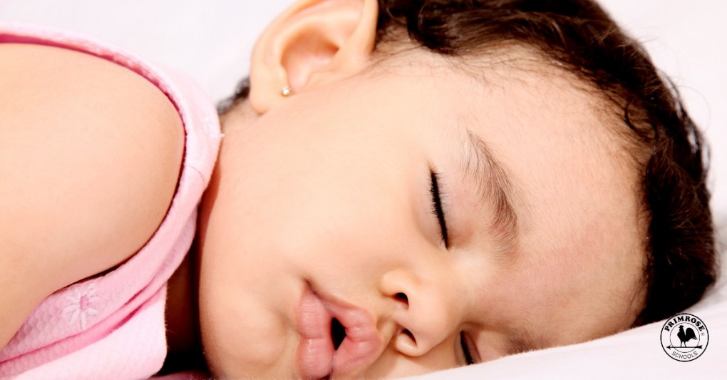 Little child, sleeping soundly