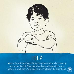 Help sign language