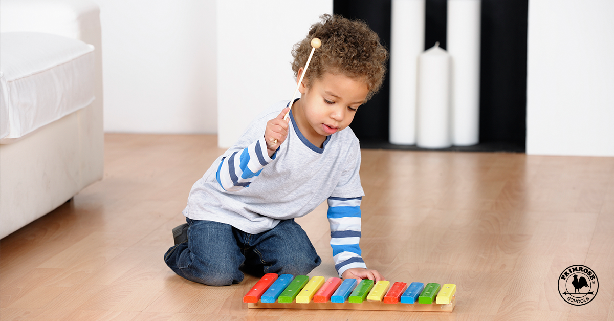 musical milestones for infants and toddlers