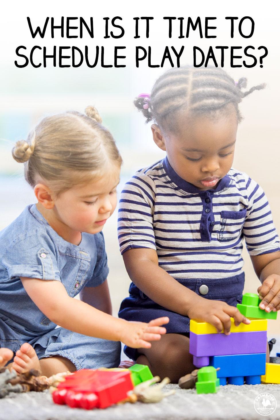 Scheduling Playdates for Your Children