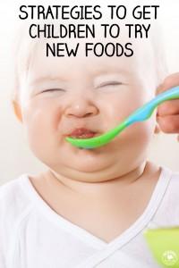 Strategies to get children to try new foods