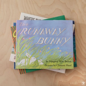 Book highlight the Runaway bunny