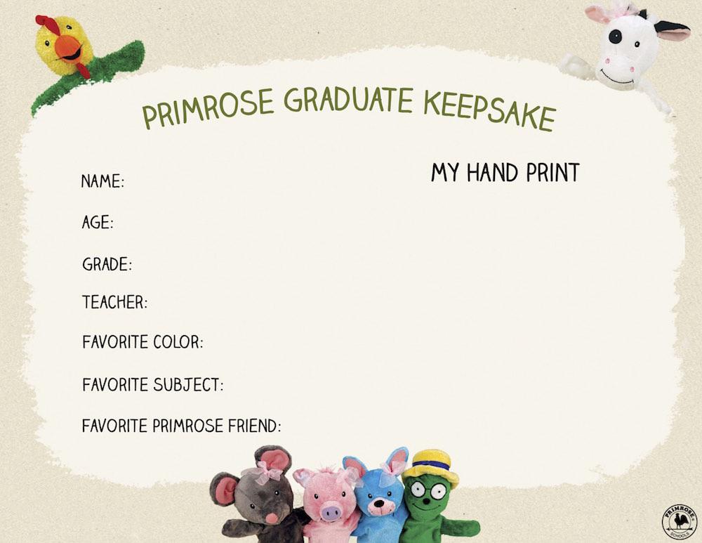 Primrose Graduate Certificate