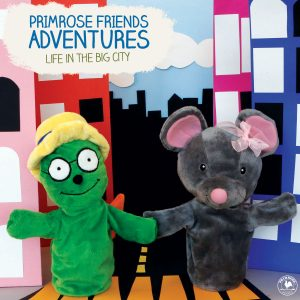 Primrose Puppets describing Friends Adventure life in the big city