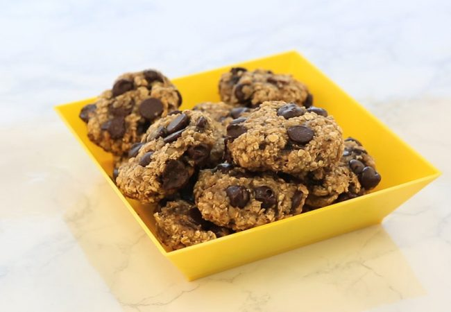 Banana and oat bites