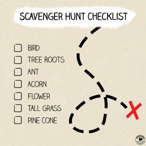 Scavenger Hunt checklist