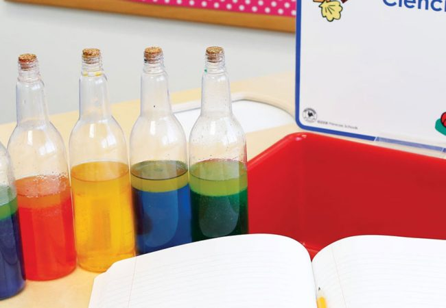 Encourage Curiosity with This Colorful Experiment