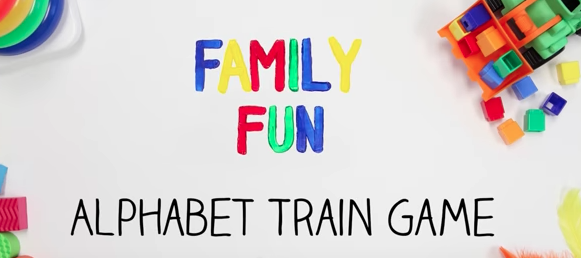 Practice ABCs Aboard the Alphabet Train