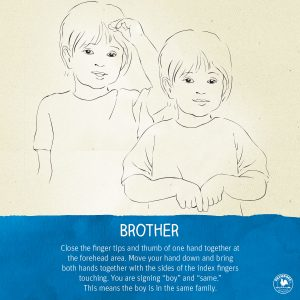 Sign Language Brother
