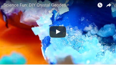 Explore Science with these DIY Crystal Geodes