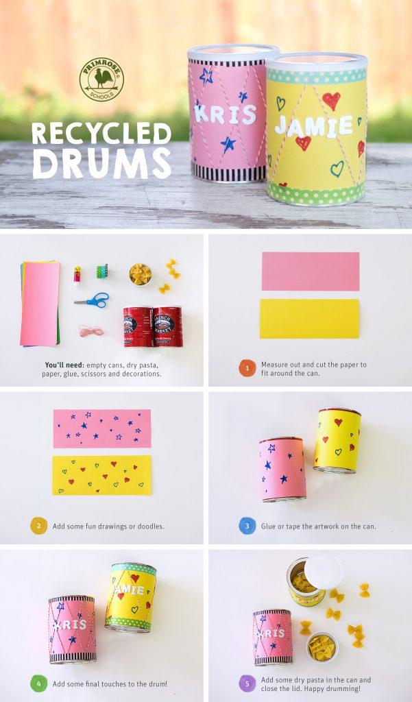 Primrose Drum Craft