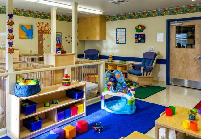 Interior of a day care center