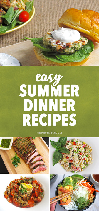 Easy Summer Dinner Recipes
