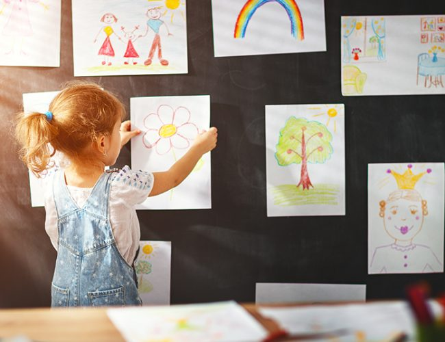 4 Things to Do with Your Child's Artwork