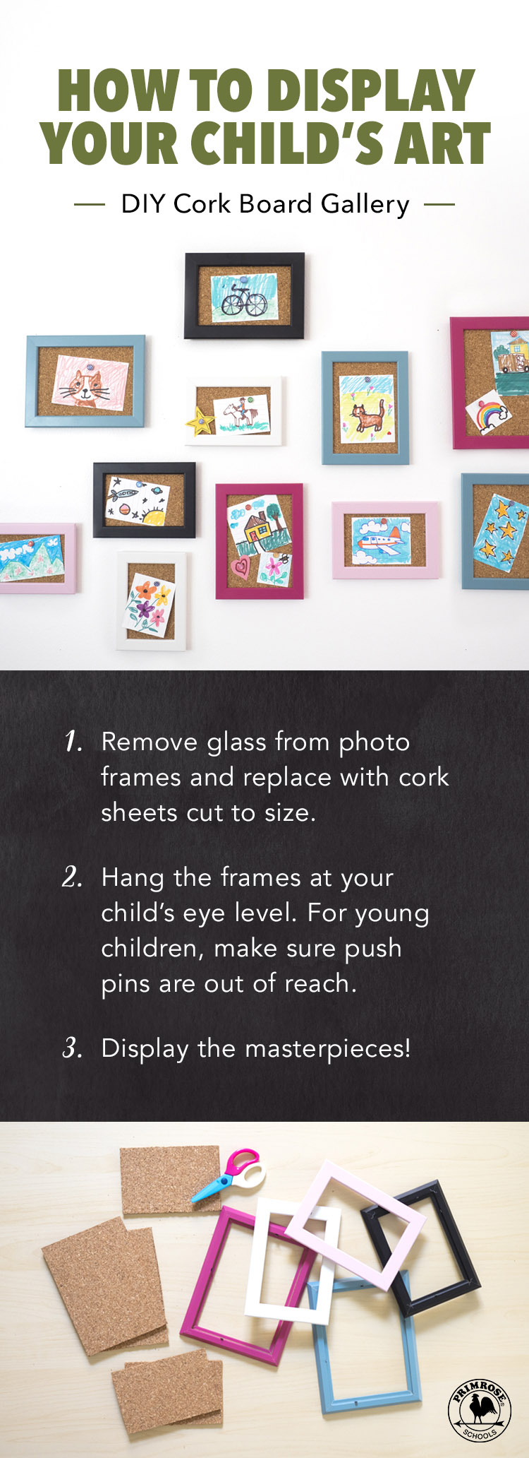 4 Things To Do With Your Child S Artwork Primrose Schools