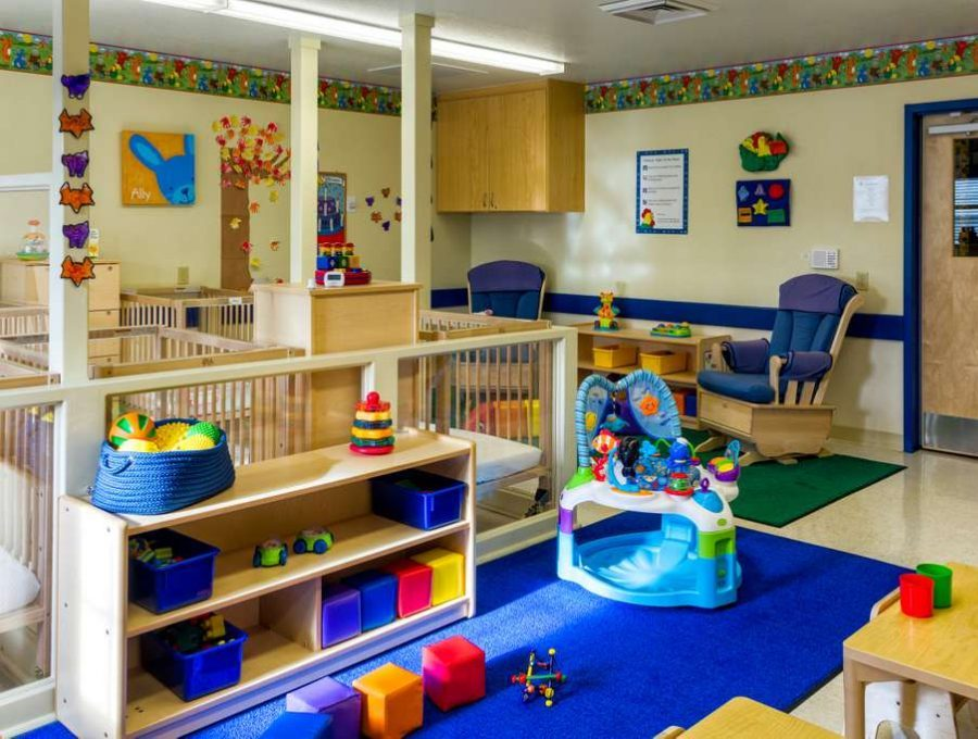 The interior of a Primrose infant classroom.