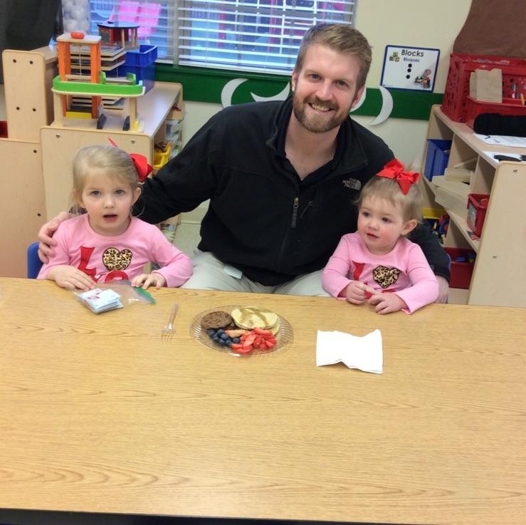 Valentine's Breakfast with Dad at Primrose Schools