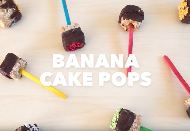 Snacktivity: Banana Cake Pops