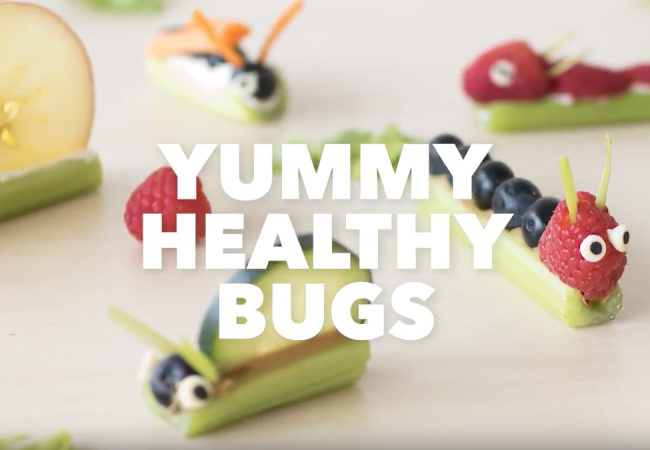 Snacktivity: Yummy Bugs