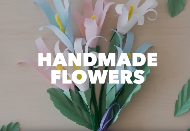 Handmade Flowers Craft