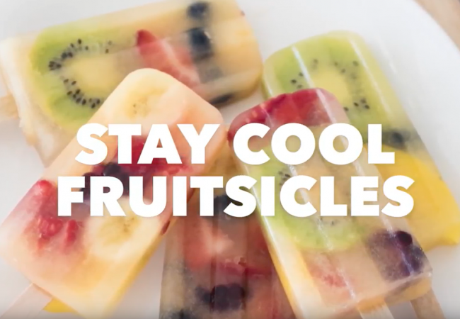 Snacktivity: Fresh Fruitsicles