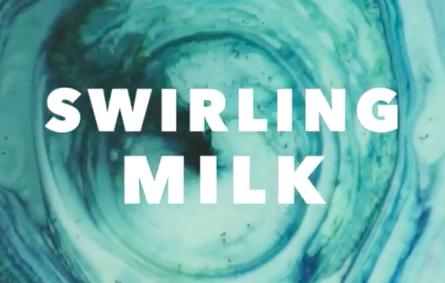 Swirling milk craft