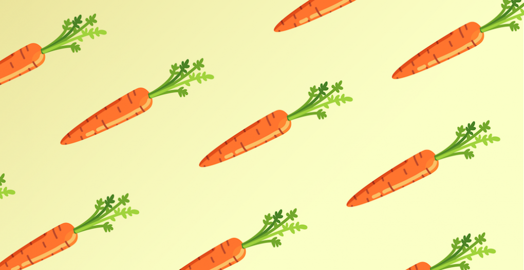 Carrots for kids collage