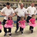 Father daughter dance class at Primrose School of Peachtree Corners