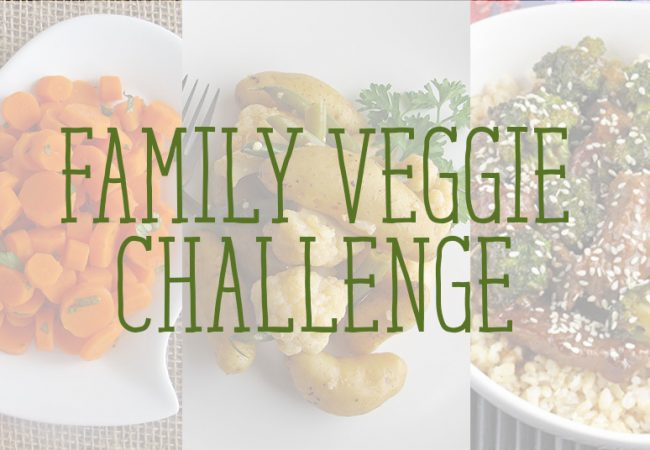 overlay image of veggies for kids with title