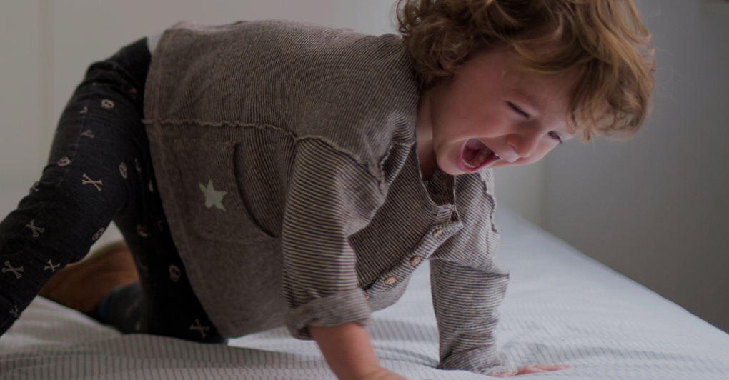 Toddler can't fall asleep