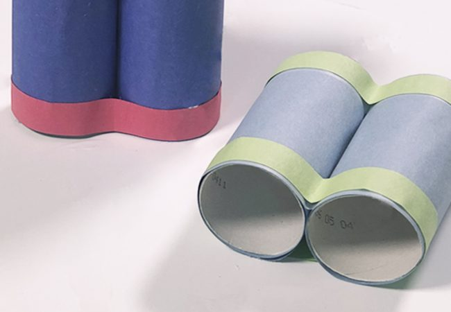 Upcycled Craft: Toilet Paper Roll Binoculars
