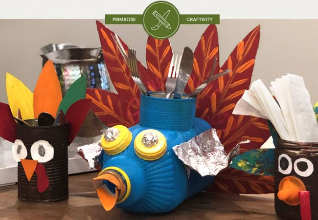 Upcycled Craftivity: Make a Turkey