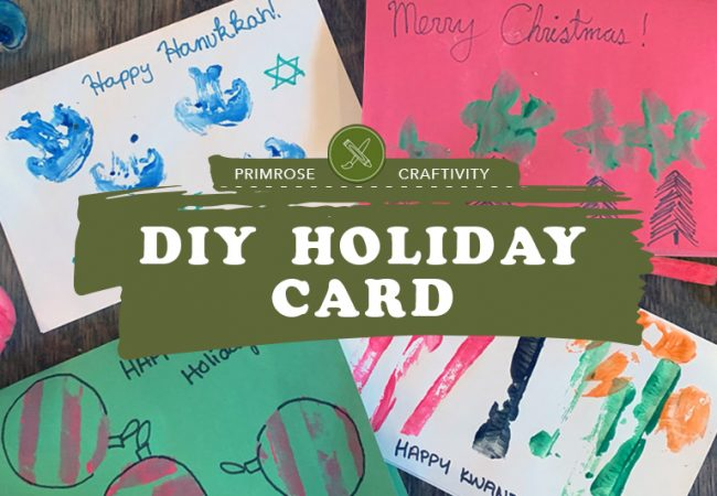 Craftivity: DIY Holiday Card
