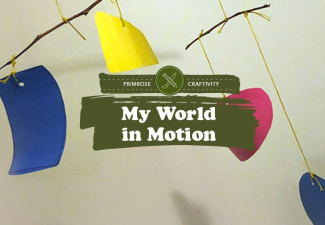 Craftivity: My World in Motion