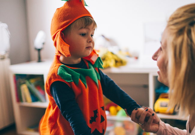 Halloween Scaries? How to Help if Your Child Is Spooked